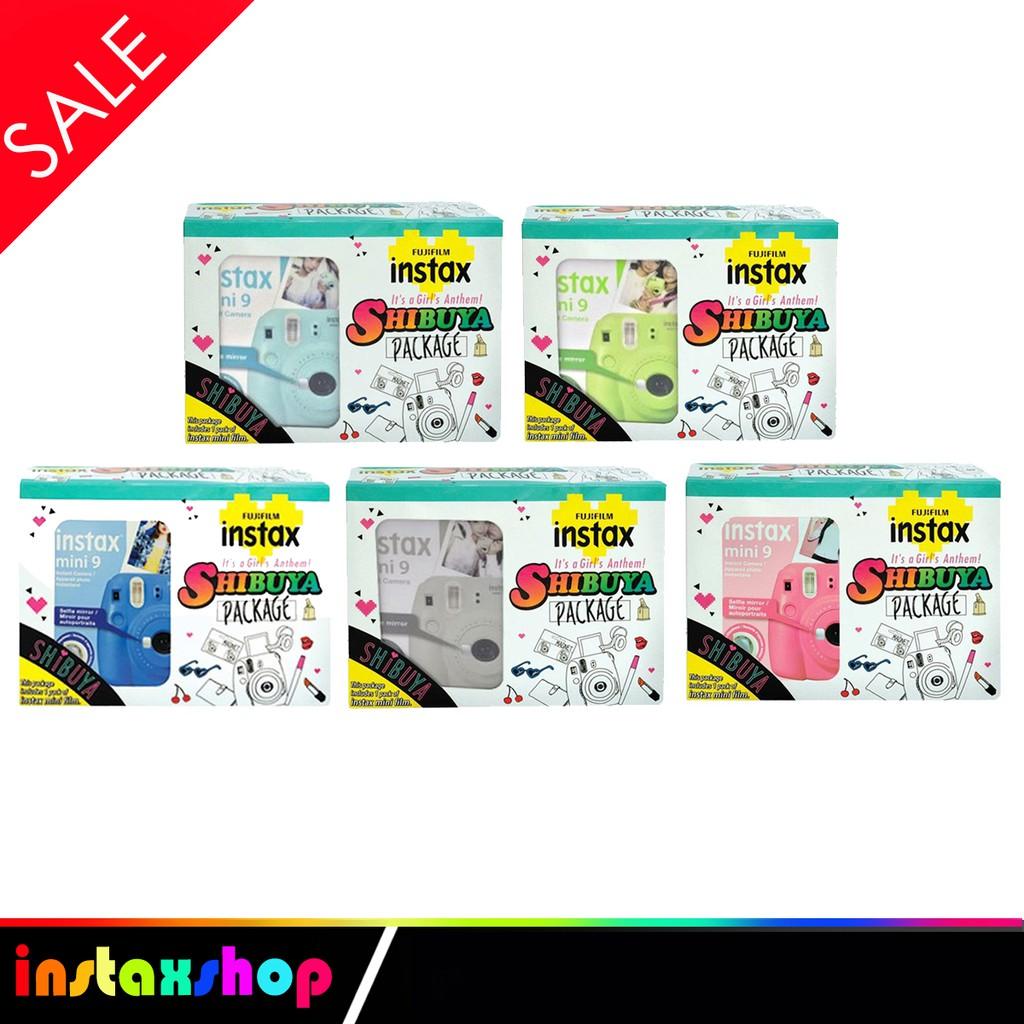 Beli Fujifilm Holiday Package Instax Mini 9 Included 1pack Paper Single Pack Garansi Resmi Harga Lebih Murah Bersama Teman Shopee Indonesia