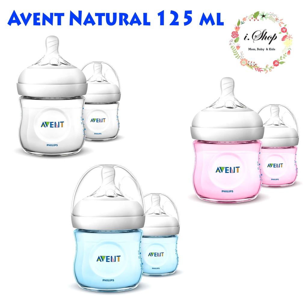 Avent Philips Milk Bottle Wideneck Botol Susu Classic 125 Ml Natural 125ml Isi 2 Shopee Indonesia