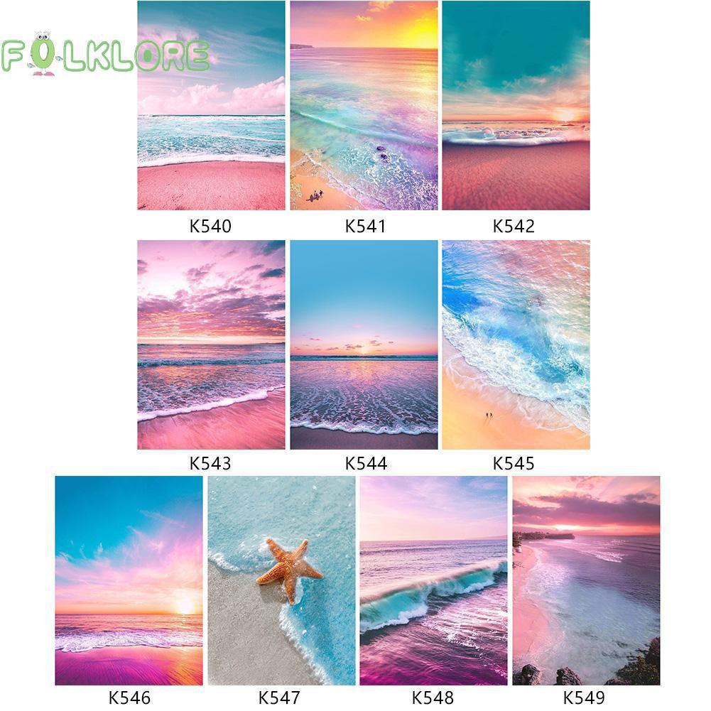 6700 contoh gambar pemandangan pantai berwarna Gratis