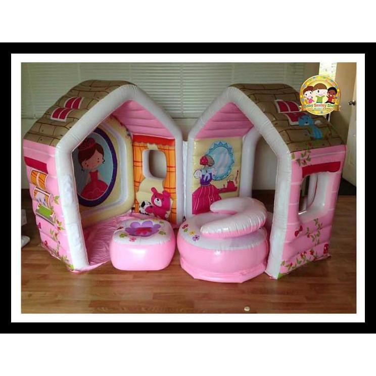 Barbie Dream House Size Dollhouse Girls Playhouse Play Fun Tent Princess Castle