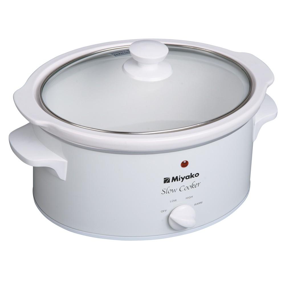 Must Have Miyako 3 In 1 Rice Cooker 06 Liter Mcm 606 Putih Murah A Meriah Shopee Indonesia