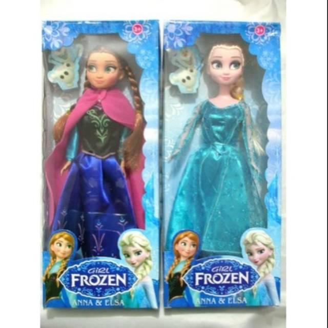 DISKON! boneka frozen elsa anna  e493663e80