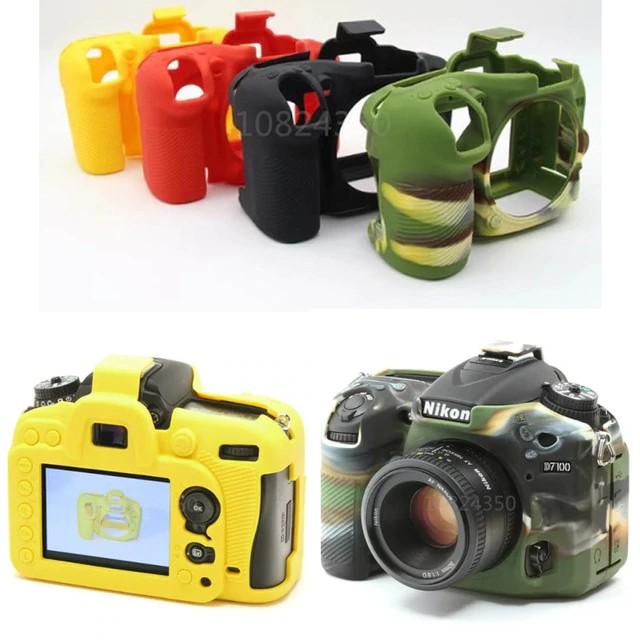Color : Color1 Soft Silicone Protective Case for Nikon D7200 //D7100 Durable