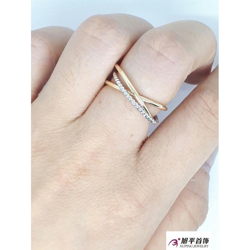 Dijual / Cincin Polos Silang by Xuping Jewelry .,,.,., |