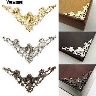 24 Pcs Perhiasan Besi Kasus Kotak Scrapbook Meja Sudut Dekoratif Guard Kerajinan