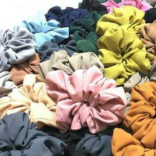 Scrunchie Ikat Rambut Kuncir Rambut thumbnail