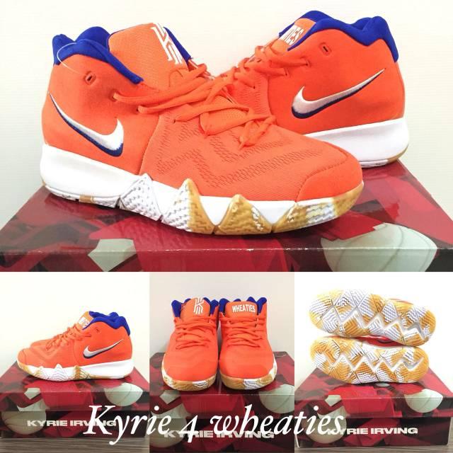 new style ec198 877d0 Sepatu basket kyrie 4 wheaties