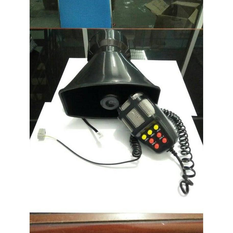 Klakson TOA 7 Suara - 12V + Microphone - Ukuran Super Big   Shopee Indonesia