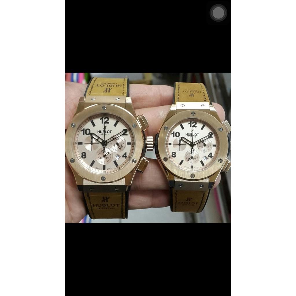 Jam Tangan Couple Merk Hublot Bigbang Geneve Type Hb 5828 Leather Fossil Jr 1424 Pria Brown Shopee Indonesia