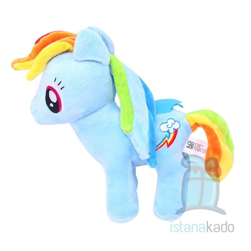 Boneka Karakter My Little Pony Rainbow Dash 10 Shopee Indonesia