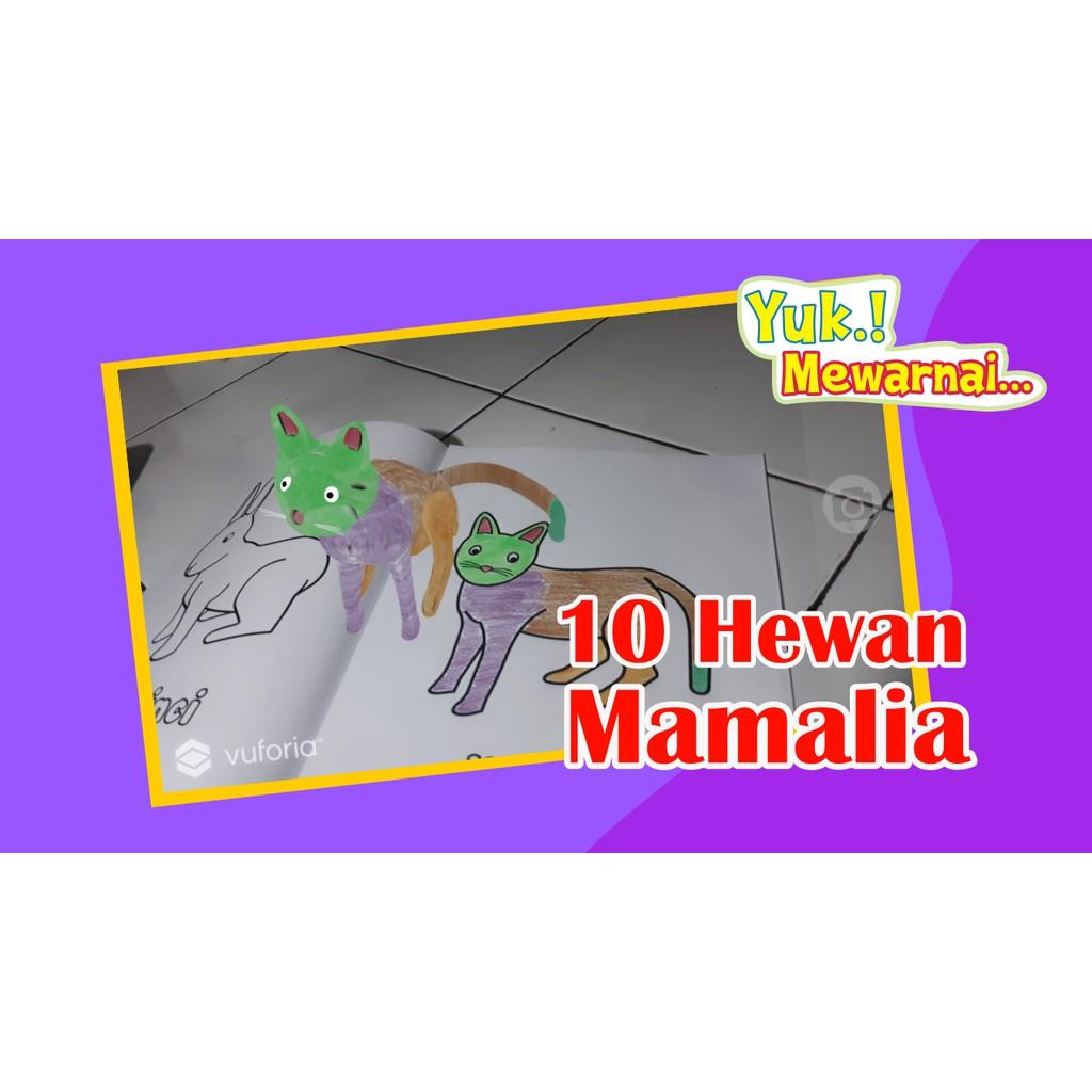 6200 Mewarnai Gambar Hewan Mamalia HD Terbaru