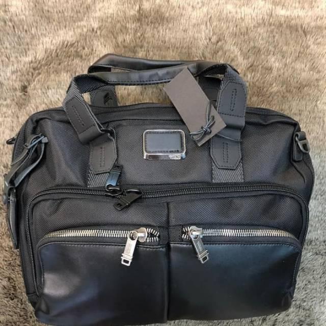 tas laptop tumi briefcase albany best seller