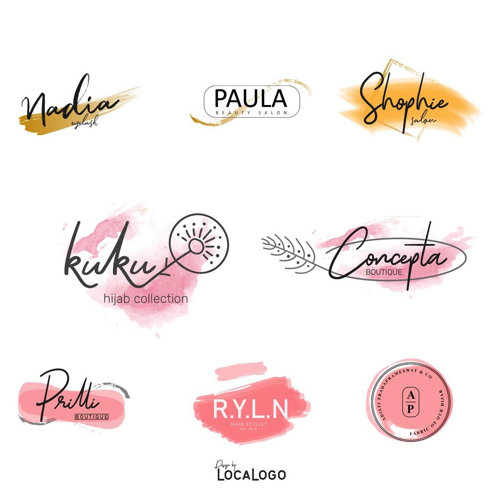 jasa desain logo butik, hijab, fashion, olshop berkualitas