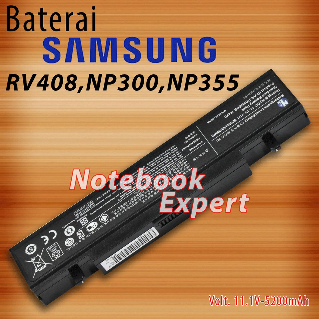Baterai Laptop SAMSUNG NP300 NP305 NP355 NP355E4X R428 R470 R478 R470 jgn