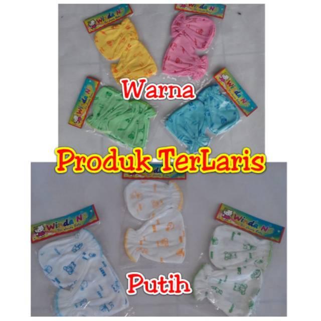 Sarung Tangan dan kaki Bayi Warna dan Putih  BAGUS TERLARIS TERMURAH