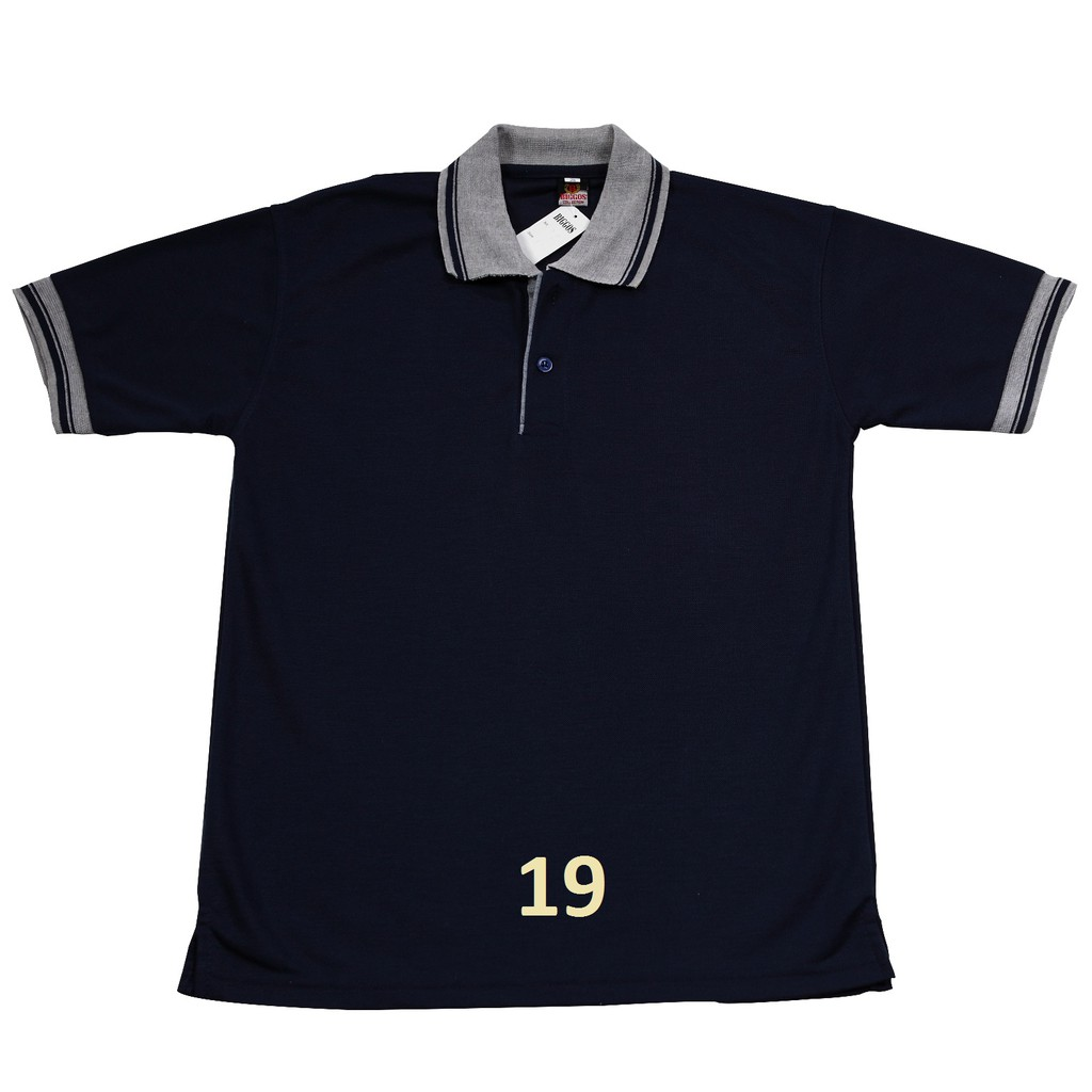 Kaos Polo Shirt Polos Kerah Premium Grosir Golf Rasa Lacoste / Gildan - Hijau Tua, XL 1143   Shopee Indonesia
