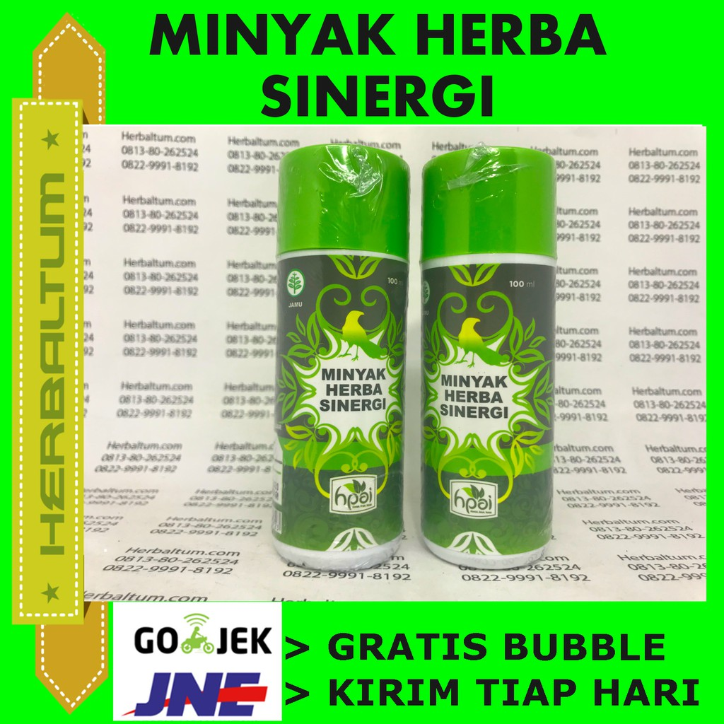 Herbal Minyak Herba Sinergi Hpai Shopee Indonesia Burung But Penyembuh Luka