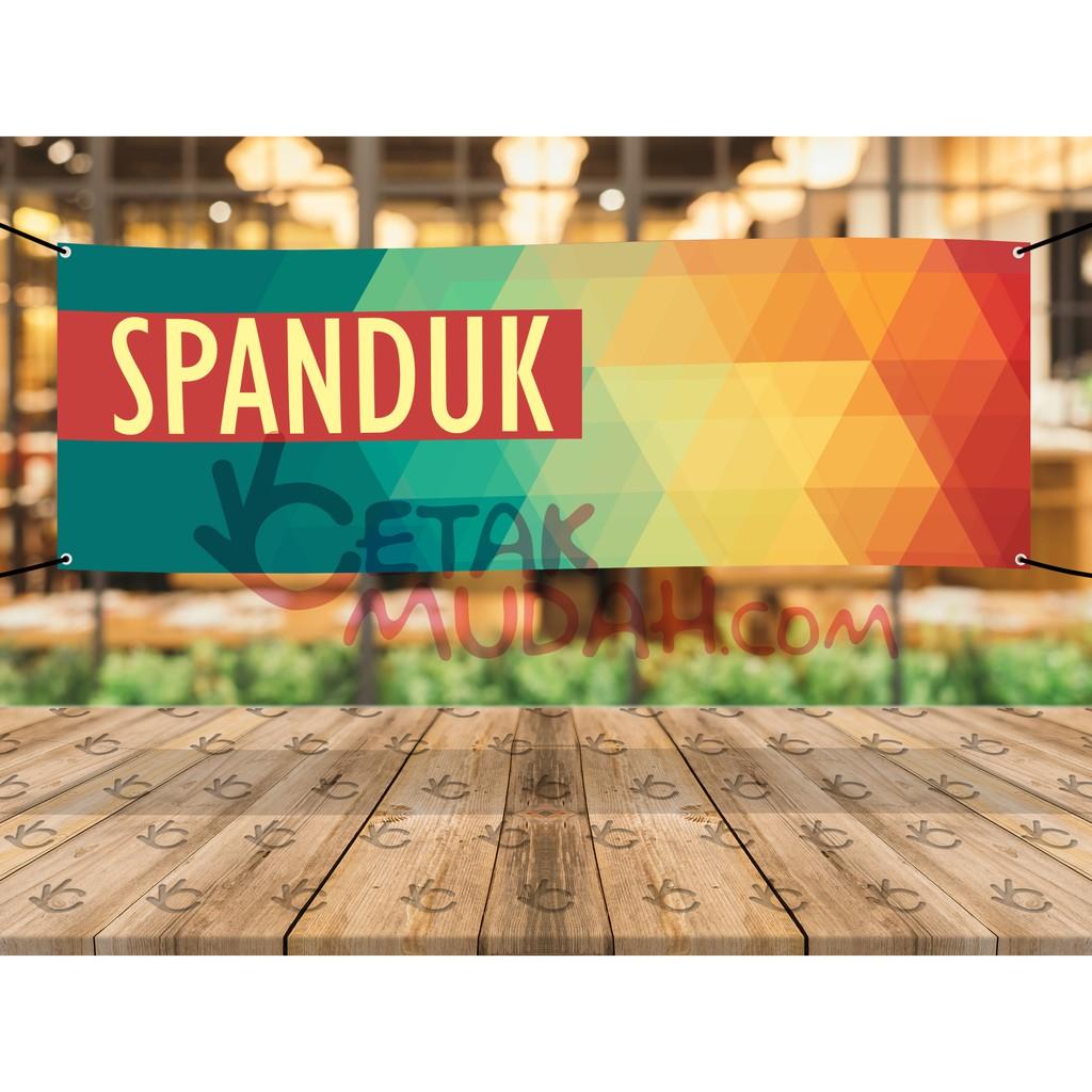 Desain Spanduk Jeruk Peras - contoh desain spanduk