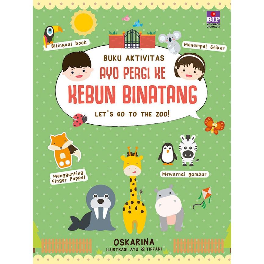 Buku Aktivitas Ayo Pergi Ke Kebun Binatang Shopee Indonesia