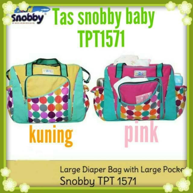 Diaper bag/Tas bayi Snobby/taa Snobby baby kecil saku color mables size TPT 1573 | Shopee Indonesia