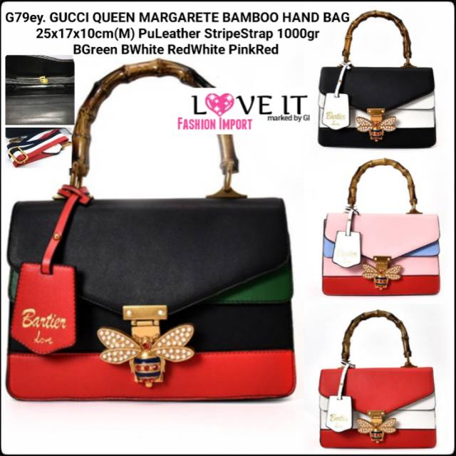 Tas GUCCI GG Marmont Small Top Handle Bag  4  498110 Wanita Cewek Batam  Murah Fashion  0691fa7c02