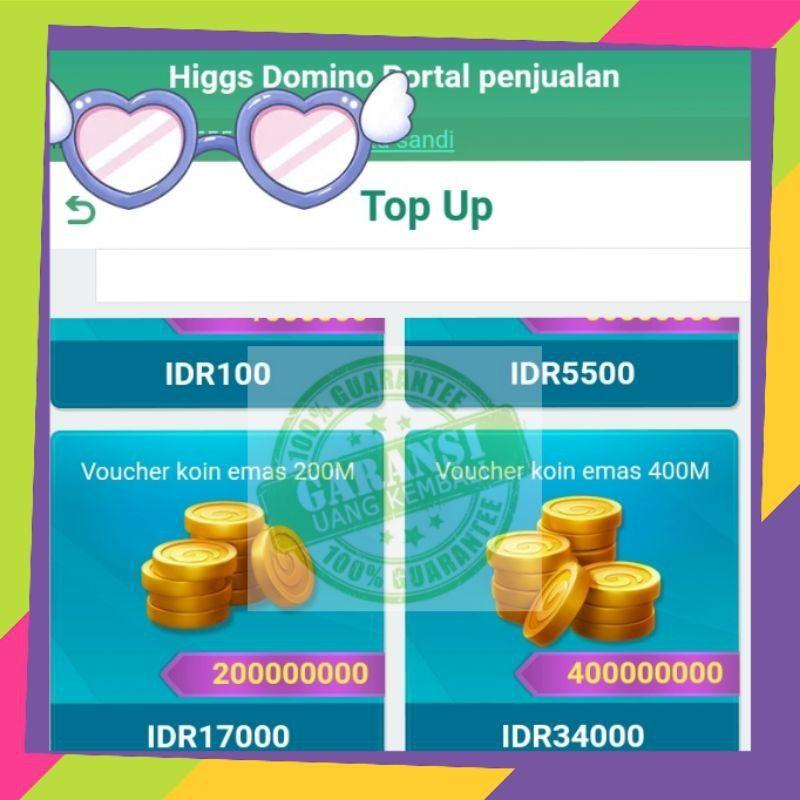(gratis ongkir) Jual Akun md /Akun hoki (mitra higgs domino island) TOP bos termurah