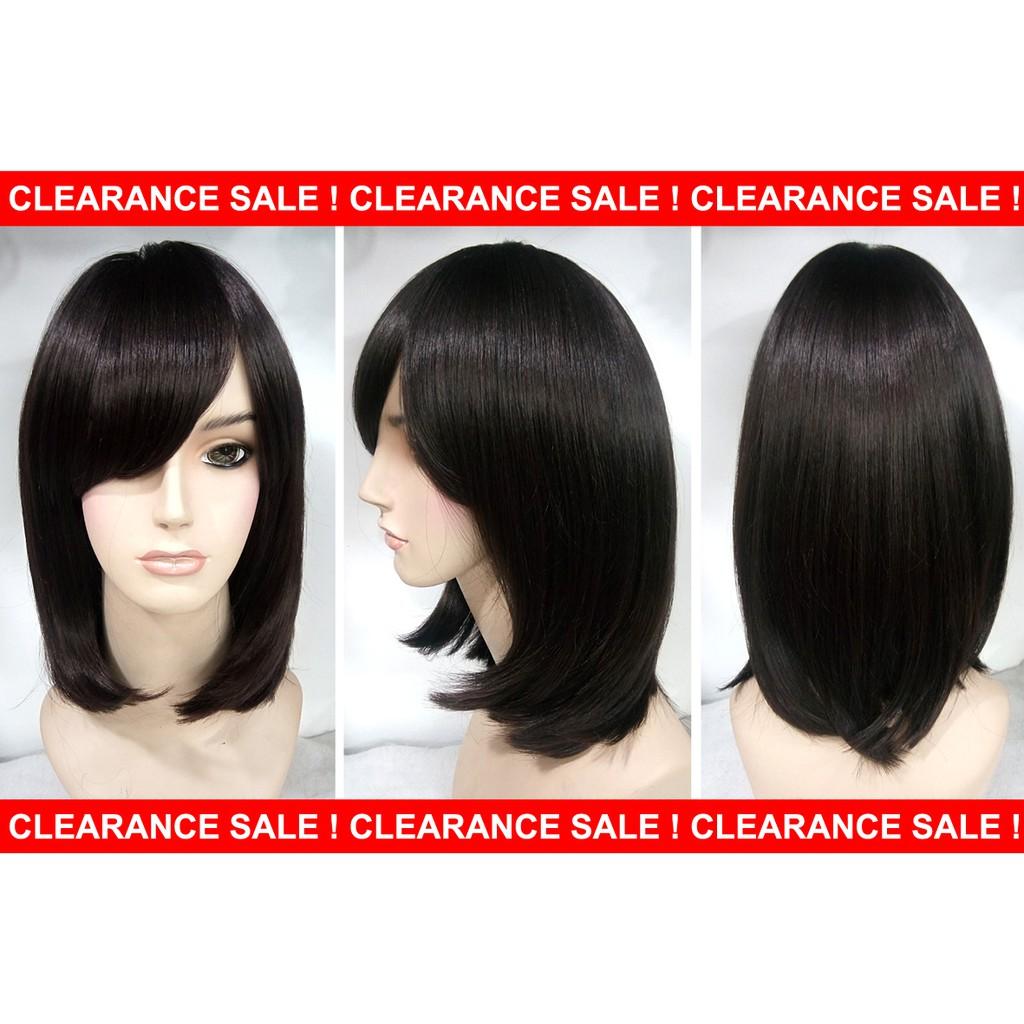 Wig Medium Panjang Medium 35cm Warna Ombre  dda428128d