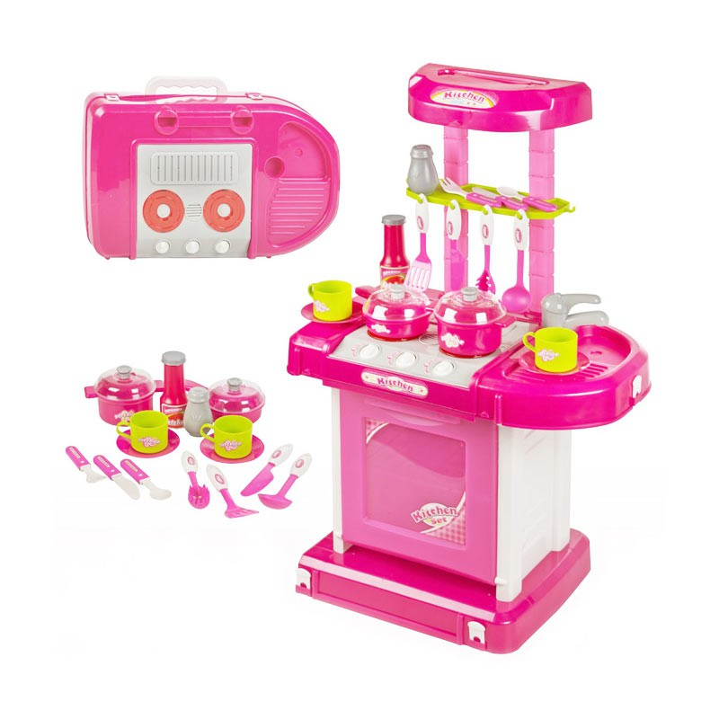 Best Seller Kitchen Set Koper Mainan Masak Masakan Anak Perempuan Shopee Indonesia