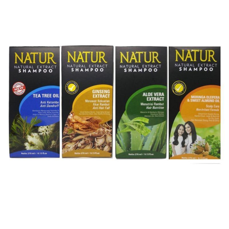 Natur Shampoo/  Shampo  140 ml All Varian