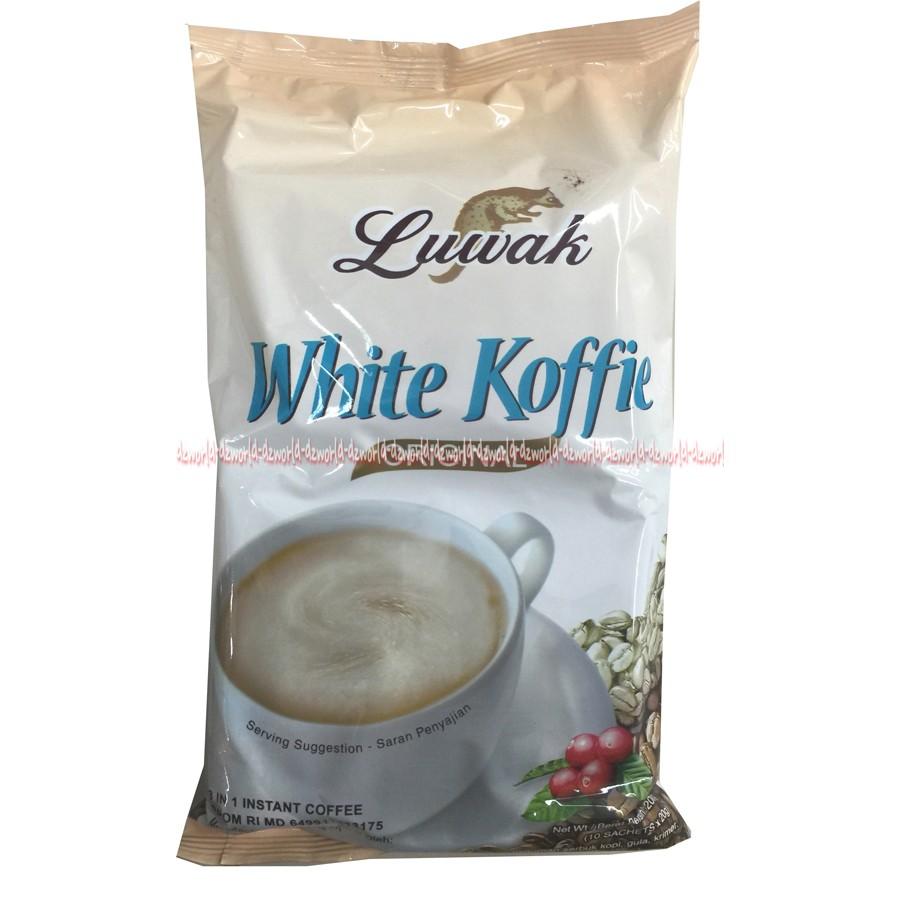 White Koffie Luwak 3in1 Kopi Luwak White Kopi | Shopee ...