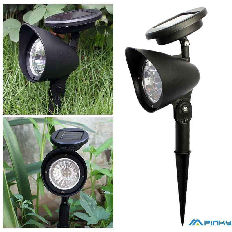 Solar Lawn Spotlights Garden Lights Outdoor Waterproof Landscape Lighting Decorative Lights Spot Shopee Indonesia
