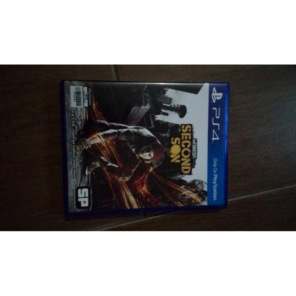 Bd Kaset Ps4 Infamous Second Son Bagus Shopee Indonesia Game