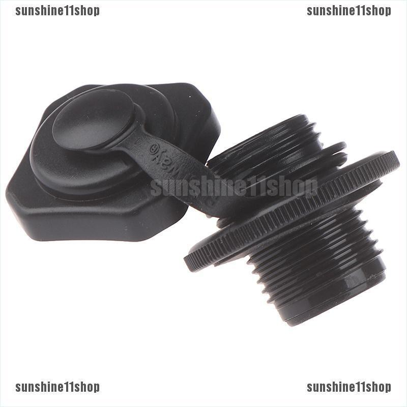 2Pcs PVC Safety Air Valve Nozzle for Inflatable Kayak Airbed Boat Raf Canoe New