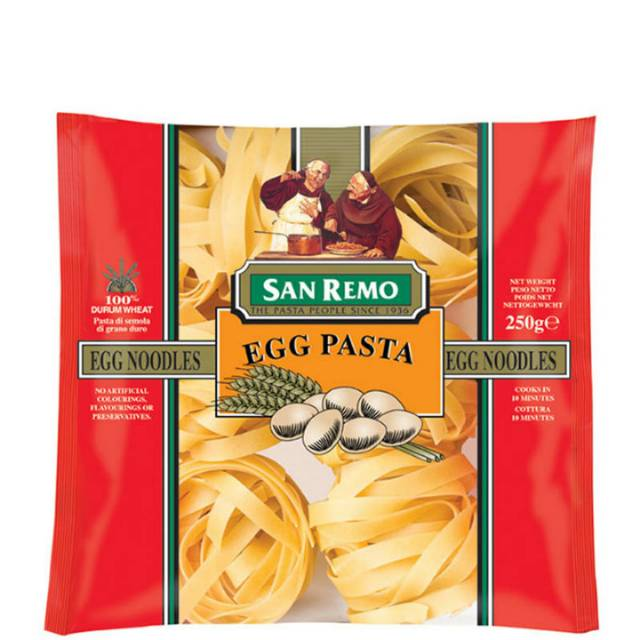 San Remo Macaroni and cheese flavour pasta .