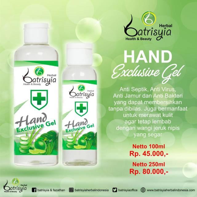 Hand Sanitizer Batrisyia Shopee Indonesia