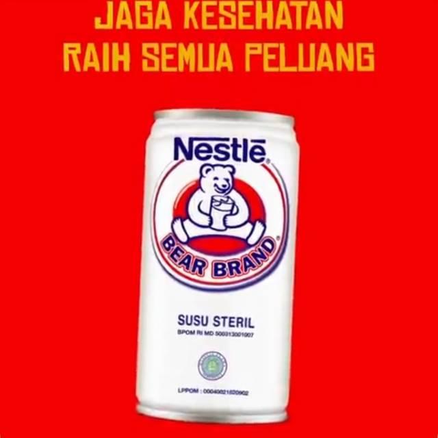 Nestle Bear Brand Susu Steril 189 Ml Tingkatkan Kekebalan Tubuh Lawan Virus Pulih Dan Bugar Shopee Indonesia