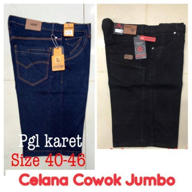 Celana Jeans Big Size Jumbo 45 46 47 48  28e000fe05