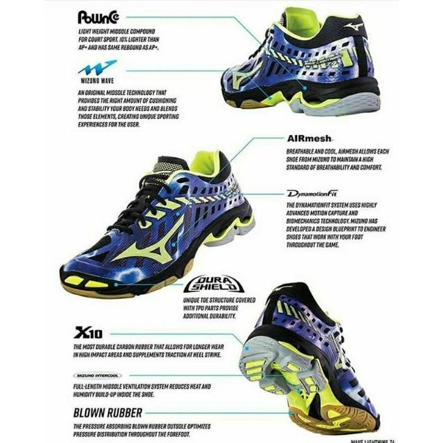 Sepatu WLZ4 000 Mizuno Asics Professional Voly volley voli  e2bae117cc