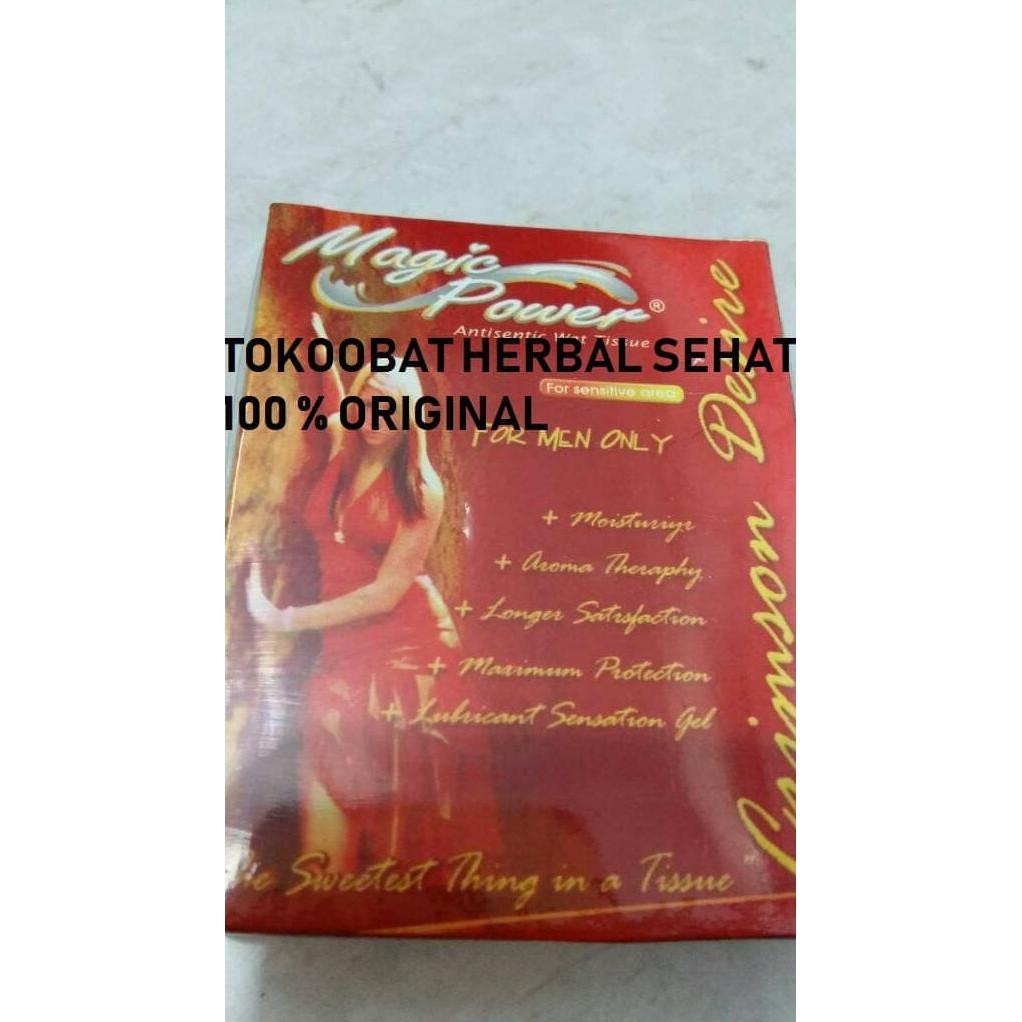 Tissue Tisu Super Power Magic Man 1 Kotak Isi 6 Aroma Casanova Shopee Indonesia