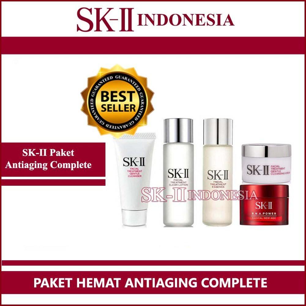Promo SK II SK2 Paket Mini Bebas Flex dan Mencerahkan Murah | Shopee Indonesia
