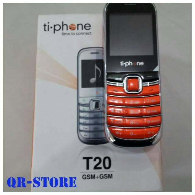 Handphone Handphone Tiphone T20 Ti phone T20 T 20 HP Murah Kecil   Shopee Indonesia