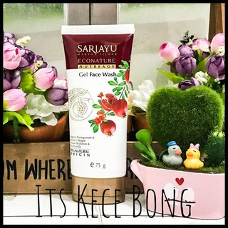 New Sariayu Econature Nutreage Gel Face Wash 75Gr