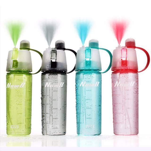 [194gr] HIHI A171A [NO DUS] sport spray water bottle / botol minum semprot / new b | Shopee Indonesia