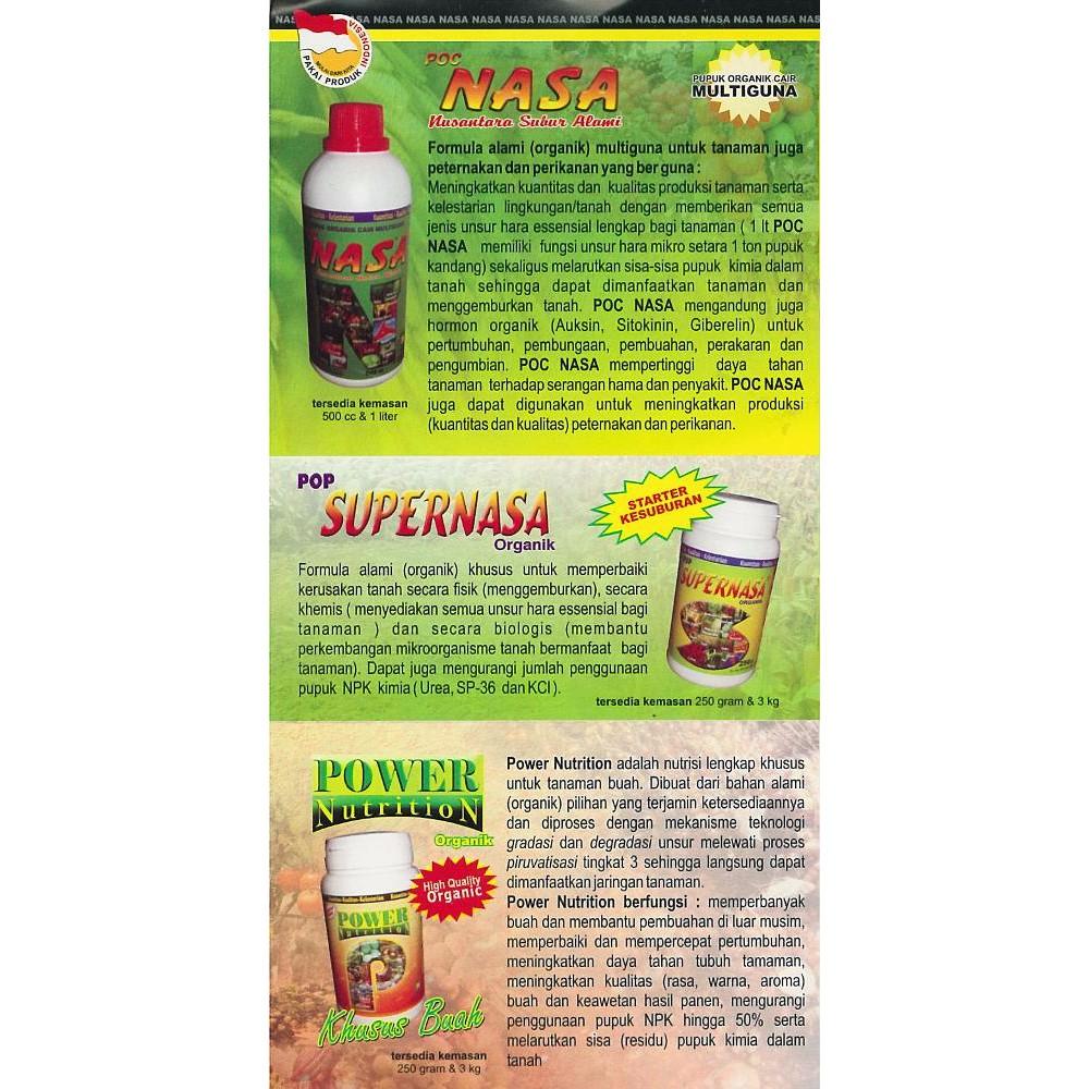 Pupuk Organik Cair Poc Nasa 500ml Shopee Indonesia