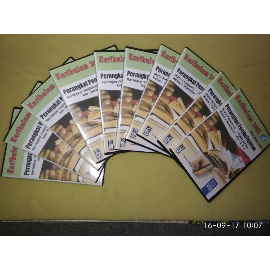 Jual Cd Rpp Kelas Ix 9 Kurikulum 2013 Revisi 2017 Semester 1 2 Lengkap 12 Mapel Shopee Indonesia