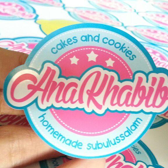 15+ Trend Terbaru Fotocontoh Stiker Untuk Cake And Cookies
