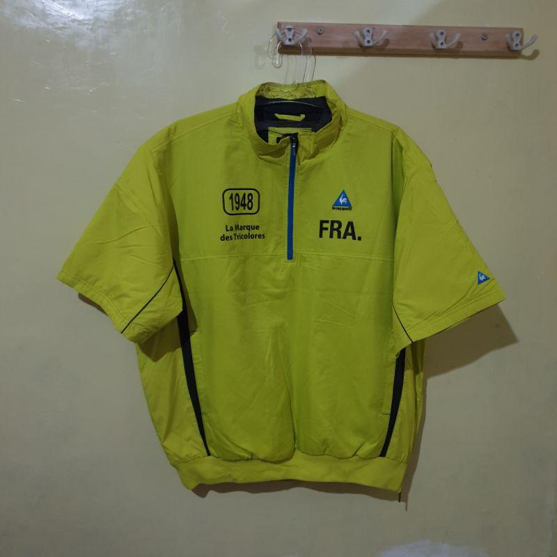 Jaket Kaos olahraga Le Coq sportif