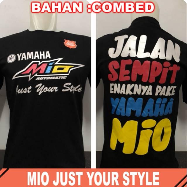 Kaos enak pake mio | Shopee Indonesia -. Source · Kaos Polo Shirt Kaos Distro