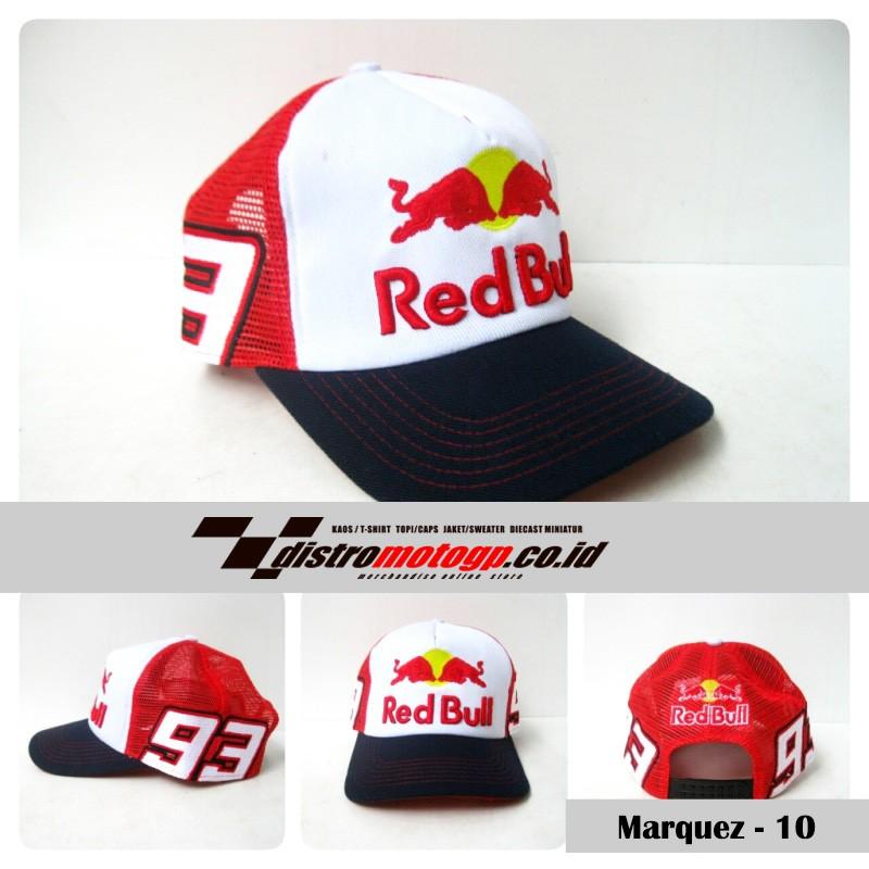 9ea64b67 Topi Distro MotoGP Marc Marquez Redbull Merah 2016 #RPMJ | Shopee Indonesia
