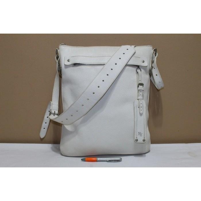 Tas branded TUMI Black white sling selempang second bekas original asl  456c5ecf86